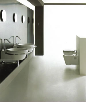 Althea Ceramica Hera Center Bathroom Basin