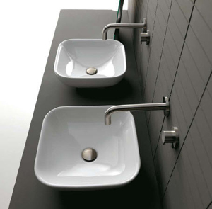 Axa Due Bathroom Sinks