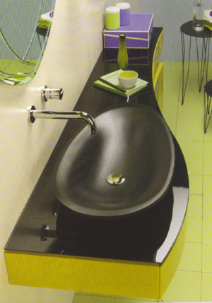 Regia Batik Glass Sinks