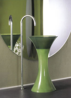 Regia Calice Freestanding Glass Sinks