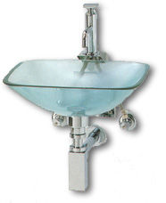 Capannoli Glass Basins