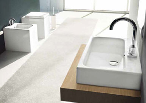 Art Ceram Block Bathroom Sinks