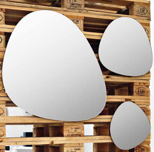 Art Ceram Stone Bathroom Mirrors