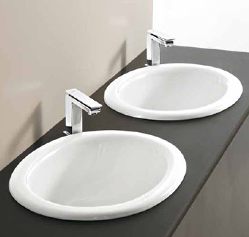 Art Ceram Venere Recessed Basins