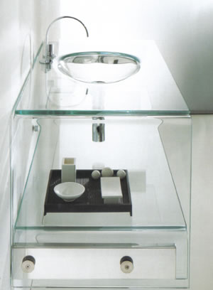 Regia Peter Pan Glass Sinks