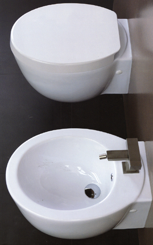 Ceramica Esedra Fly Bathroom Toilets