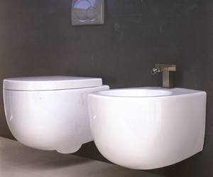 Ceramica Esedra Bull Back to Wall Toilets