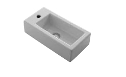 Ceramica Esedra Squeak Small Bathroom Sinks