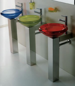 Regia Juke Box Light Glass Sinks