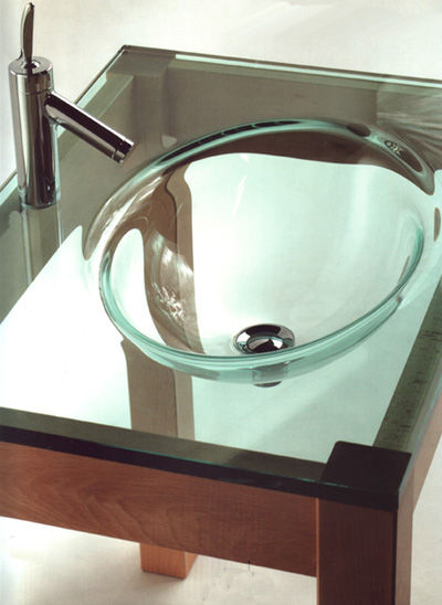Triade Gonzaga Glass Bathroom Sinks