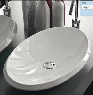 Hidra Oval Countertop Basin