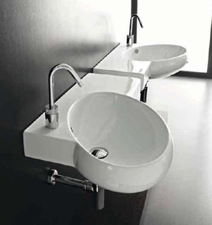 Hidra Tao Bathroom Sinks