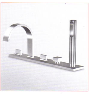 Zucchetti Aguablu Bathroom Shower Taps