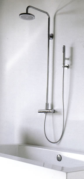 Zucchetti Isystick Bathroom Shower Taps