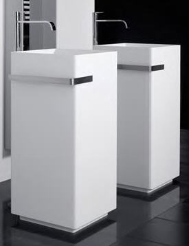 Antonio Lupi Kubic Freestanding Bathroom Sinks