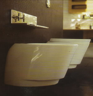NIC Design Monolite Bathroom Toilets