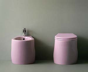NIC Design Pillow Bathroom Toilets