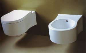 NIC Design Pixel Bathroom Toilets