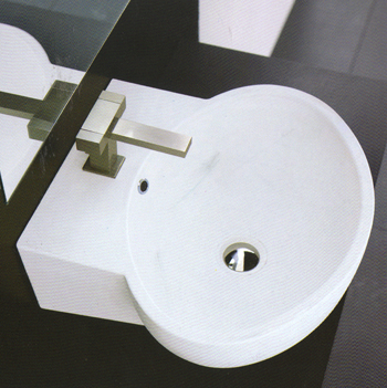 Ceramica Esedra Poing Bathroom Washbasins