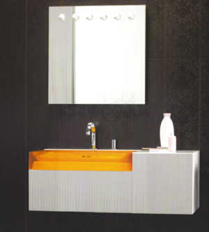 Regia Juke Box Light Bathroom Vanity Sinks