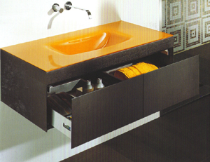 Regia Plaza Colour Glass Sinks