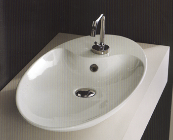 Scarabeo Shape Bathroom Basins