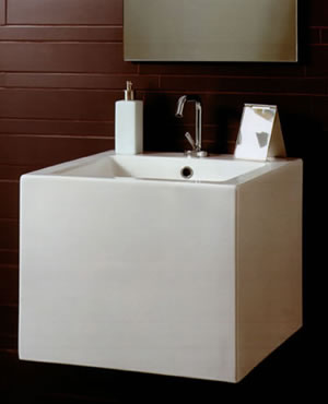 Simas Frozen Bathroom Basins