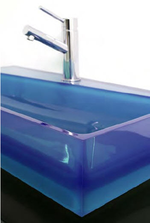Regia Swish Glass Sinks