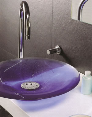 Regia Kali Glass Basins