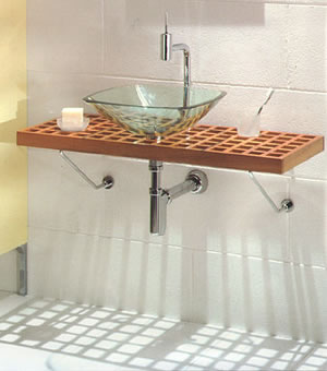 Tulli Zuccari Quadro Glass Sinks