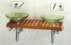 Tulli Zuccari Quadri Glass Sinks