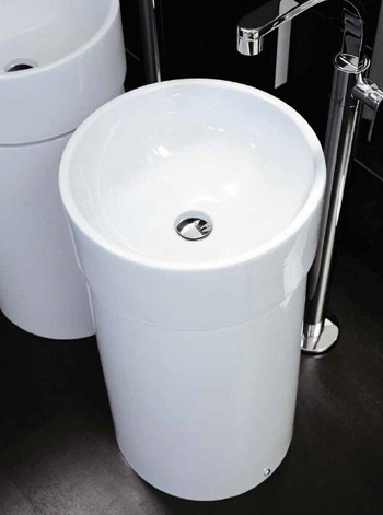 Flaminia Twin Freestanding Bathroom Sinks