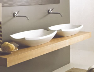 Vitruvit Shakia Bathroom Sinks
